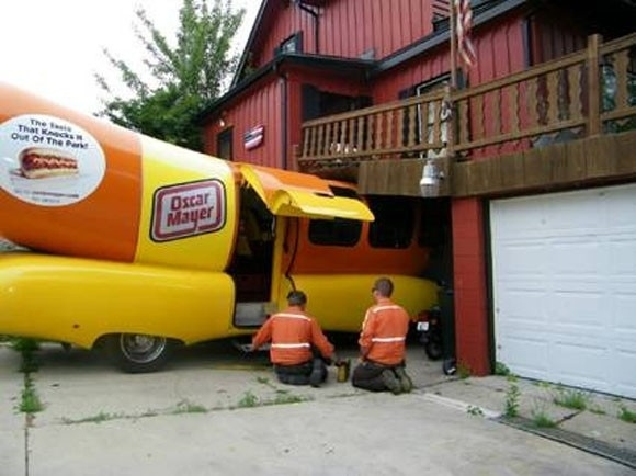 Wienermobile Consumates Relationship With House