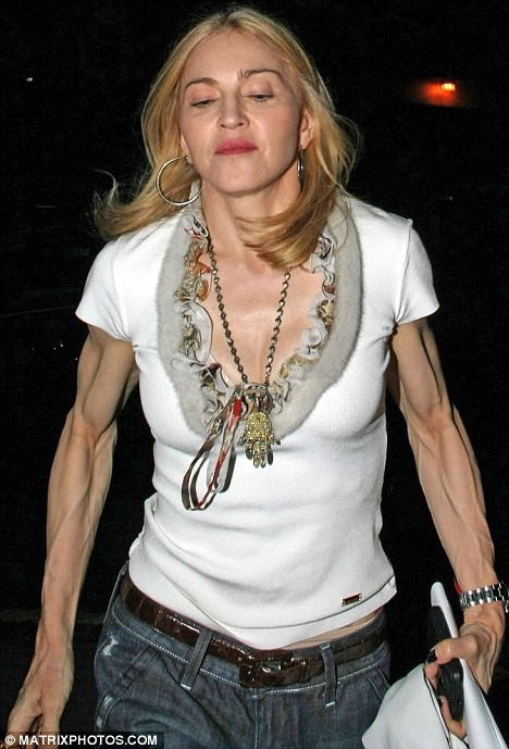Madonna's Freaky Arms (Again)