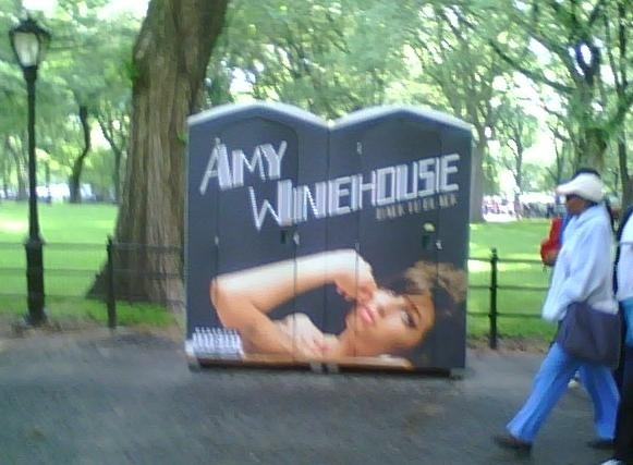 Amy Winehouse's Poopy Ad Campaign