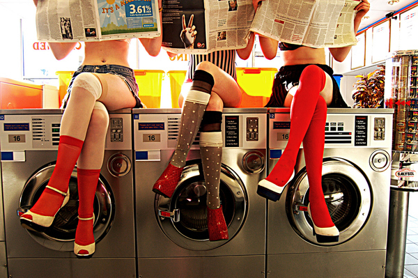 Wow, I Need to Start Going to the Laundromat More Often