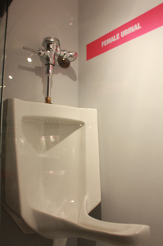 Finally! Proof Of A Female Urinal In The Wild
