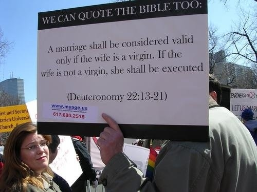 Gay People Can Quote The Bible Too