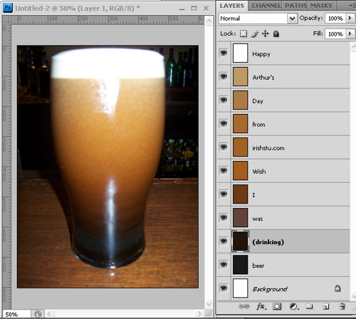 Guinness for Photoshoppers