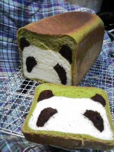 Adorable Panda Bread