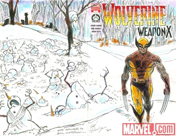Wolverine And Hobbes