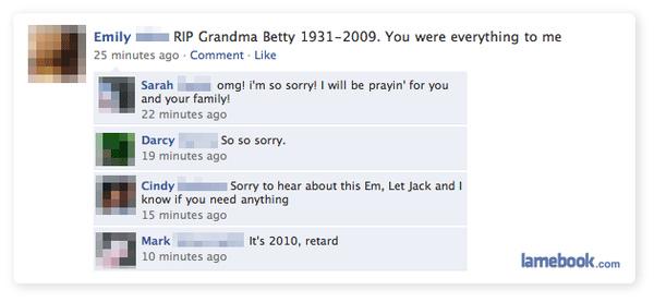 RIP Grandma Betty