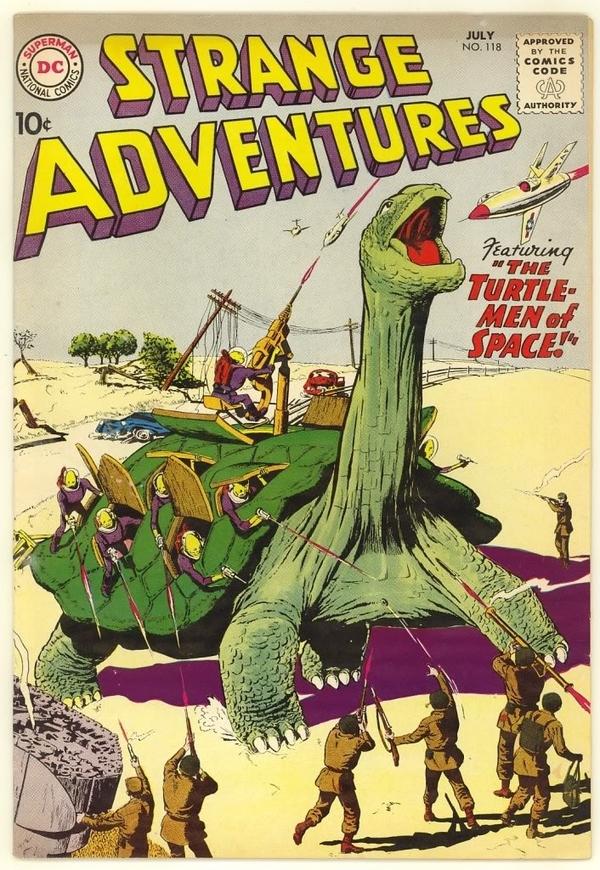 Space Turtles!