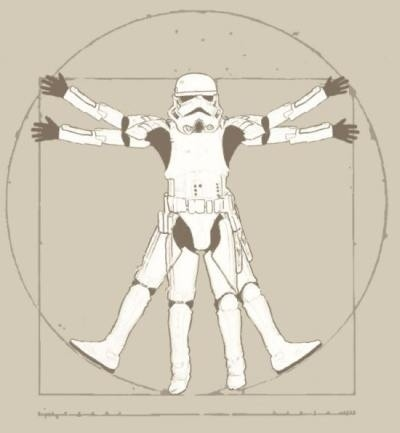 Vitruvian Stormtrooper