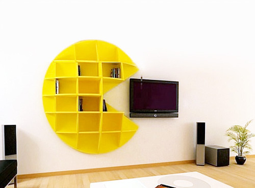 Pac-Man Book Shelf