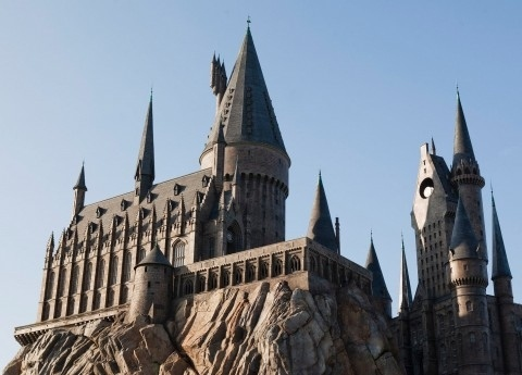 First Look at Harry Potter Theme Park