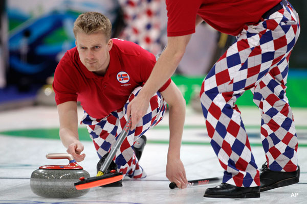 Olympics Fashion Winner: The Norwegian Men's Curling Team