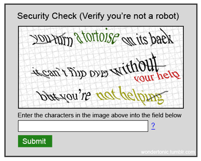 The Ultimate CAPTCHA