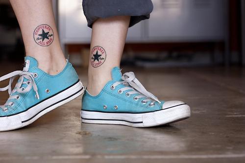 Converse Tattoos