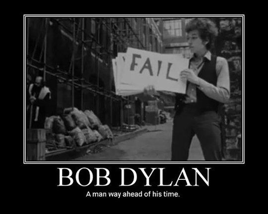 Bob Dylan Is Avant Garde