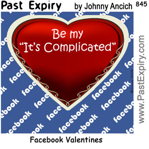 Cartoon: Facebook Valentines