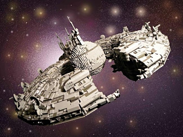 Star Wars Droid Control Ship In LEGO