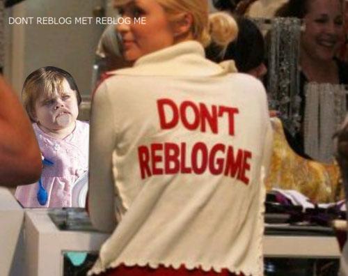 Paris Hilton: Don't Reblog Me