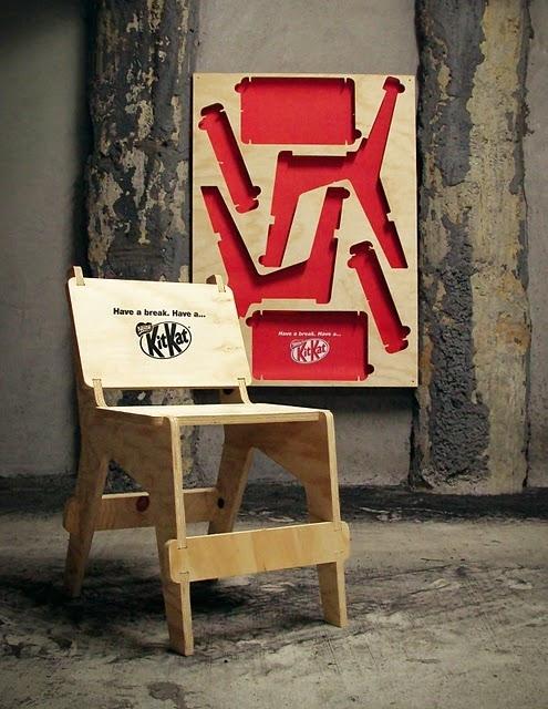 Kit Kat Poster-Chair