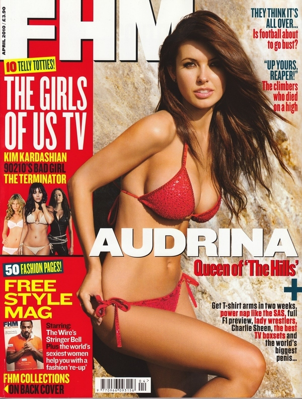 Audrina Patridge Is Looking Red Hot On the Cover of FHM