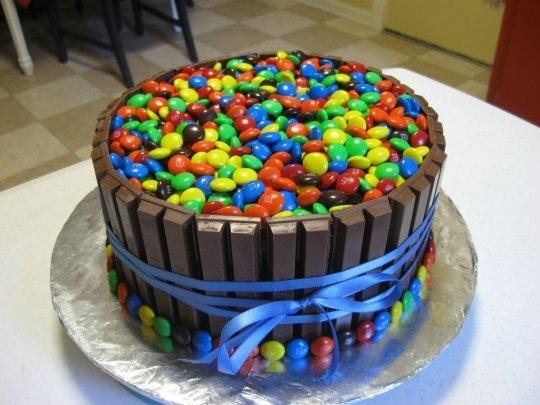 Pro-diabetes Barfday Cake