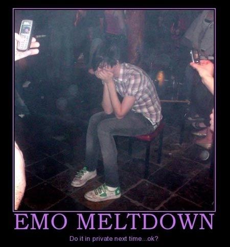 EMO MELTDOWN