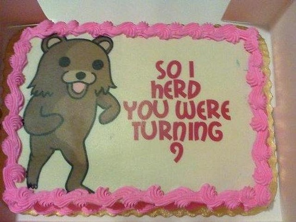 Get Off That Cake Pedobear