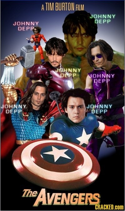 The Avengers-starring Johnny Depp