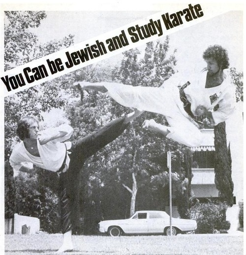 You Can Be Jewish AND Study Karate!