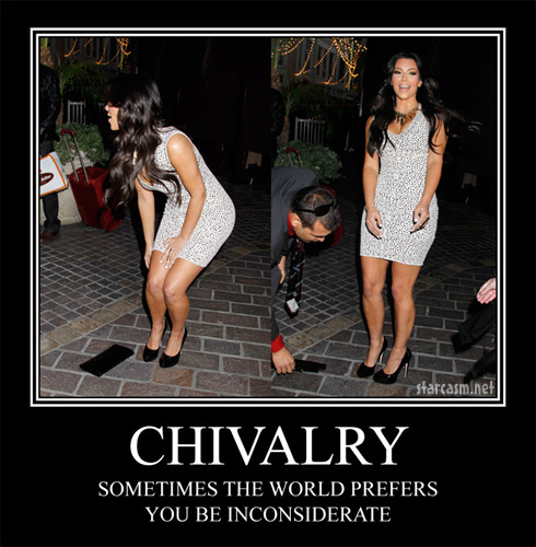 Kim Kardashian: When Chivalry Killed Joy