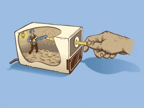 The Mechanics of an Automatic Pencil Sharpener