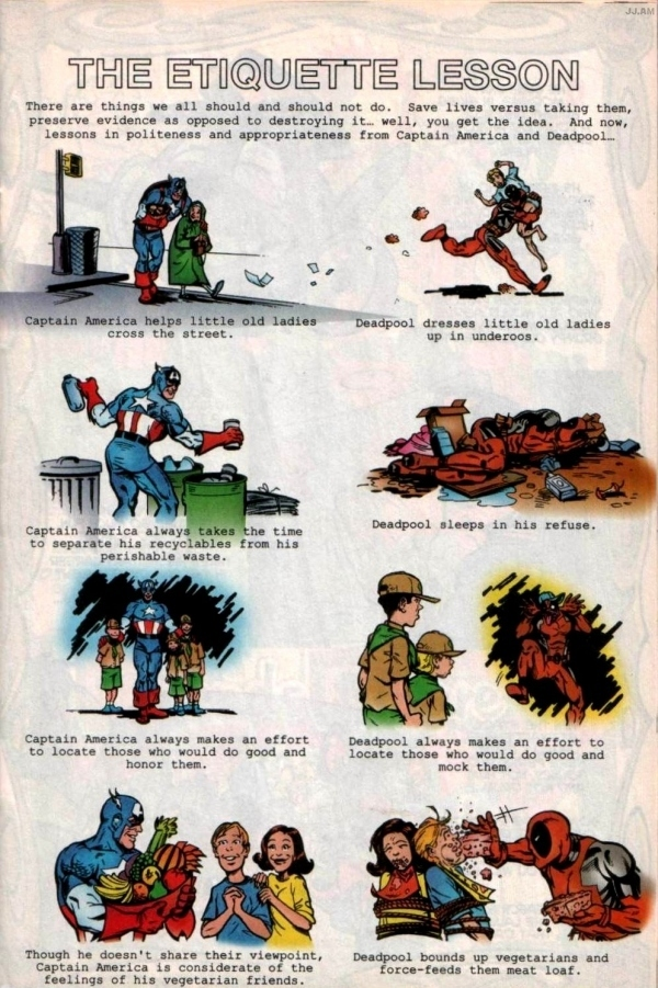 Life Lessons From Captain America and Deadpool