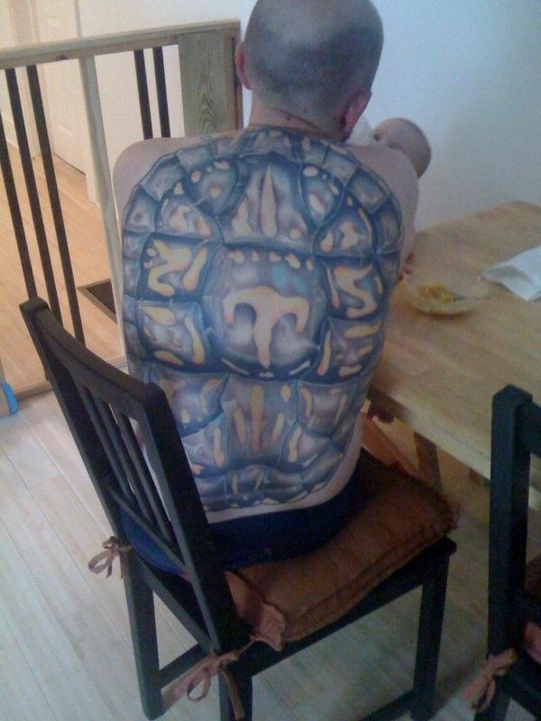 Turtle Back Tattoo