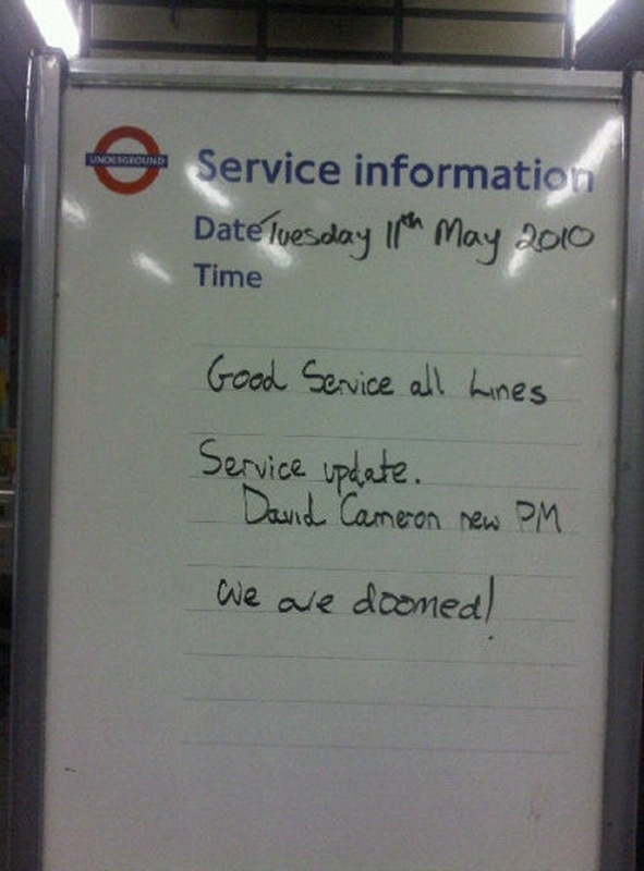 London Underground PM Service Update