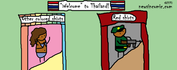 """Welcome"" to Thailand!"