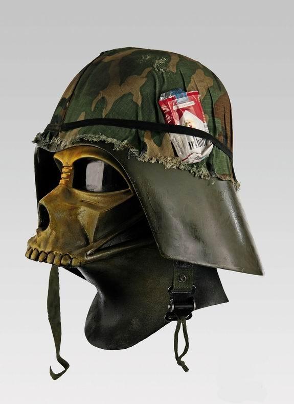 Darth Vader Helmet Art!