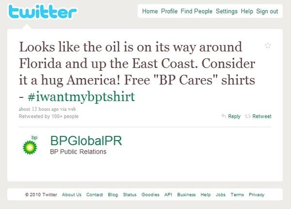 BP Is Giving America An Oily Hug