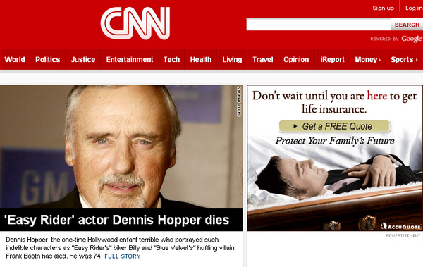 Stay Classy, CNN