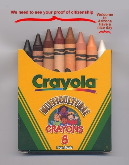 Arizona in Crayola