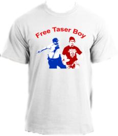 Phillies Taser Boy Gets the Shirt Treatment