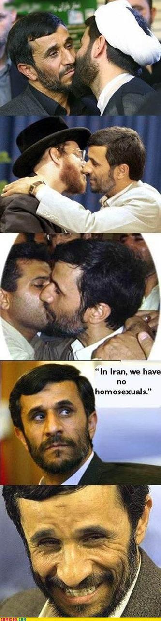 In Iran, We Have No Homosexuals...except Meeeee!