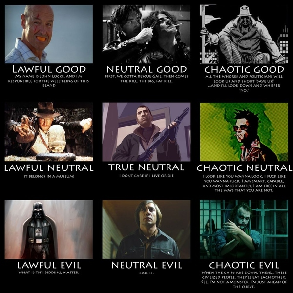 Good Vs Evil Bad-asses