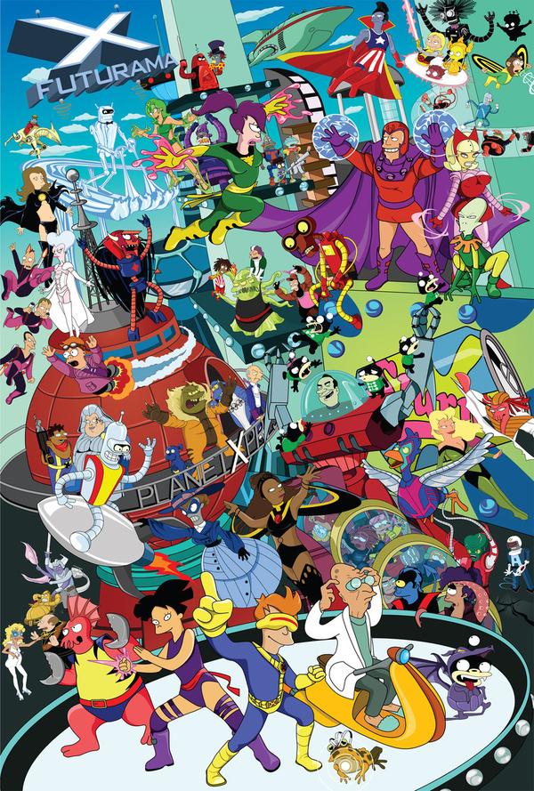 Futurama X-Men