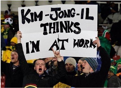 North Korea Soccer Fan Better Not Go Home