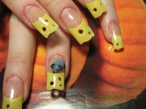 Cheese Nails