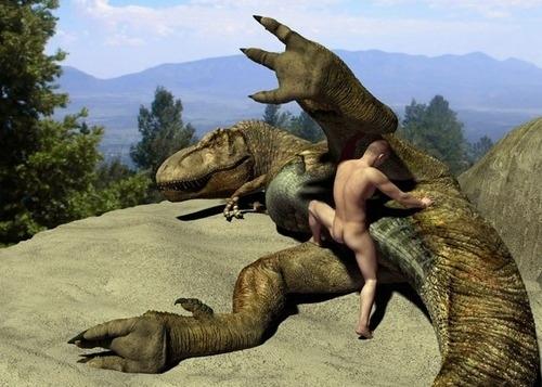 Dinosaur Rape (NSFW + WTF )