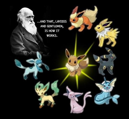 Darwin Likes Pokemon