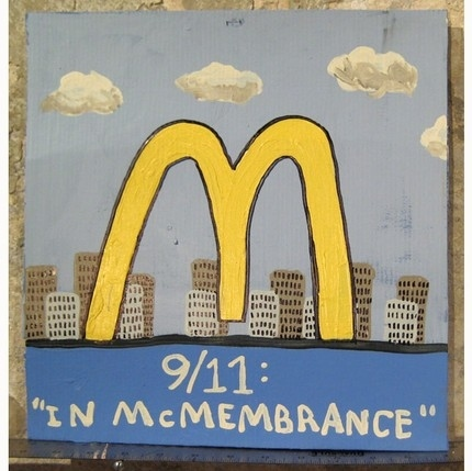 9/11 in McMembrance Painting
