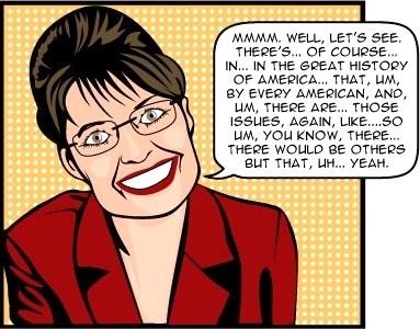 Sarah Palin: Mrs. Know It All