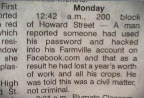 Farmville Heist