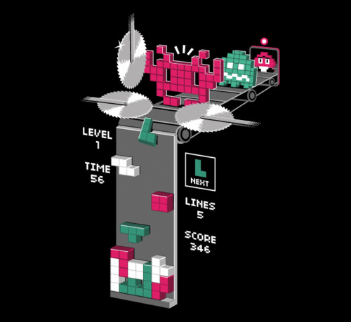 Tetris Is Where Video Game Characters Go To Die